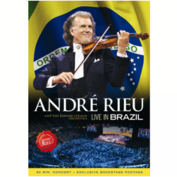 DVD André Rieu - Live In Brazil