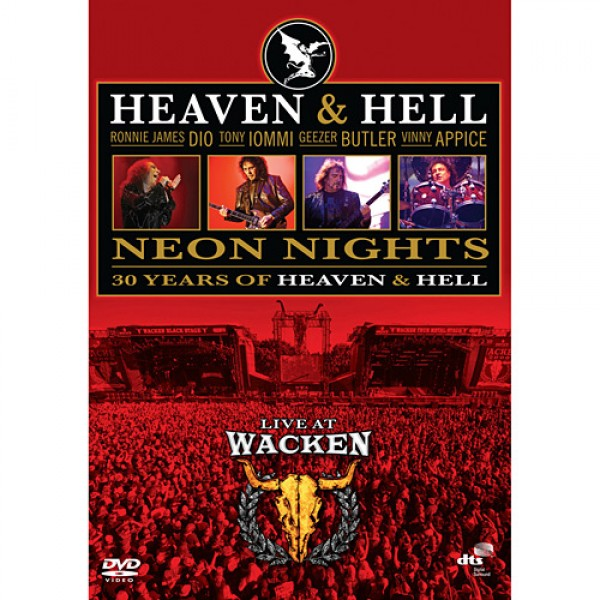 DVD Heaven & Hell - Neon Nights - Live At Wacken