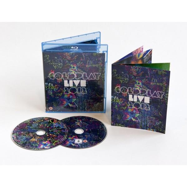 Blu-Ray + CD Coldplay - Live 2012