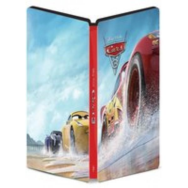 Blu-Ray 3D + Blu-Ray - Carros 3 (Steelbook - Edição Especial)