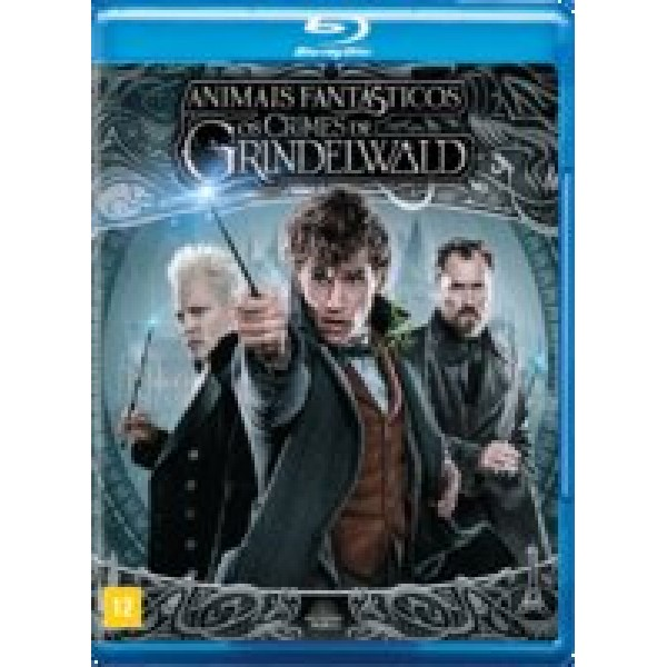 Blu-Ray Animais Fantásticos - Os Crimes de Grindelwald