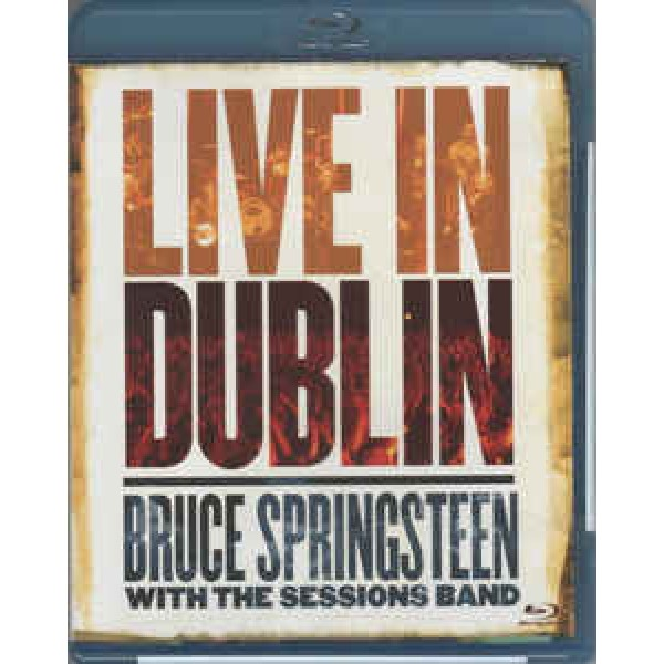 Blu-Ray Bruce Springsteen With The Sessions Band - Live In Dublin