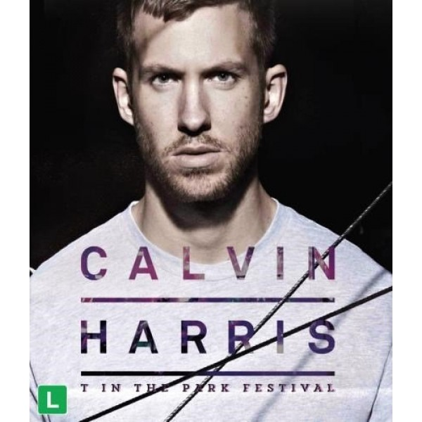 Blu-Ray Calvin Harris - T In The Park Festival
