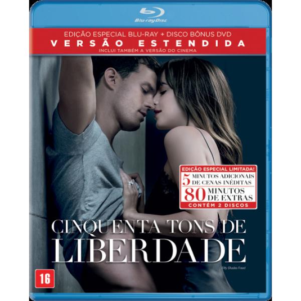 Blu-Ray + DVD Cinquenta Tons De Liberdade (Versão Estendida)