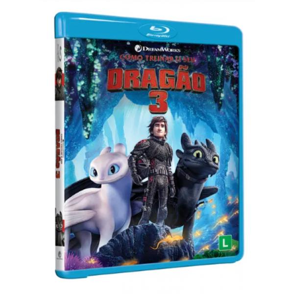 Blu-Ray Como Treinar O Seu Dragão 3