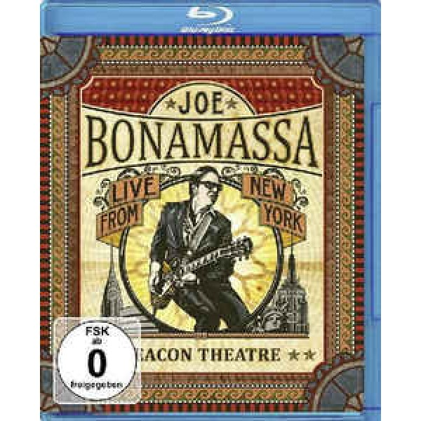 Blu-Ray Joe Bonamassa - Live From New York: Beacon Theatre (IMPORTADO)
