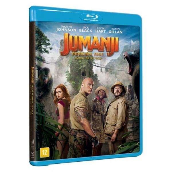 Blu-Ray Jumanji - A Próxima Fase