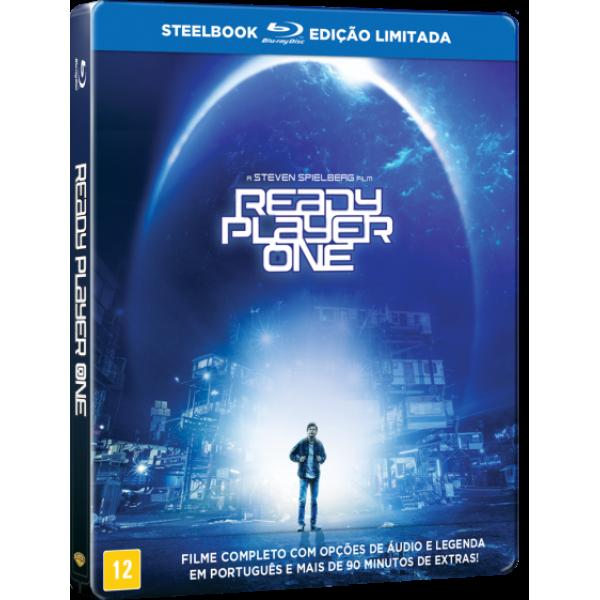 Blu-Ray Jogador Nº 1 (Steelbook - Edição Limitada)