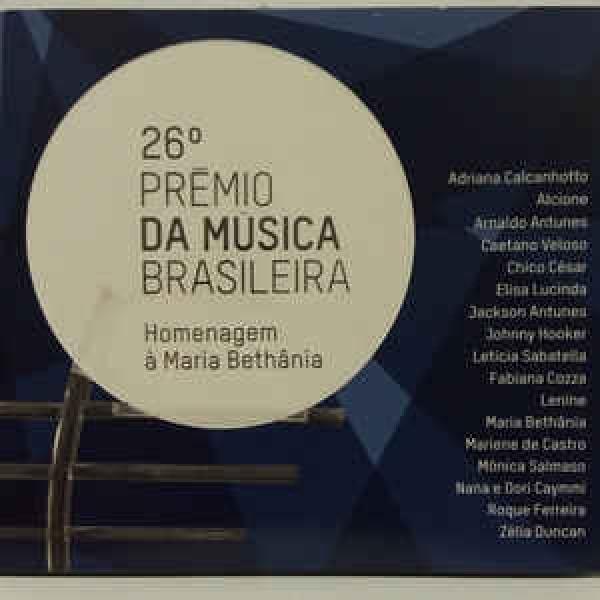 CD 26º Prêmio Da Música Brasileira - Homenagem À Maria Bethânia (Digipack)