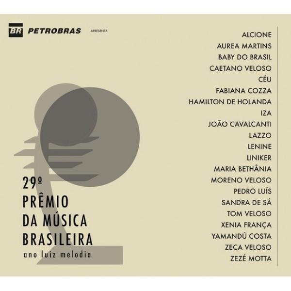 CD 29º Prêmio Da Música Brasileira (Digipack)