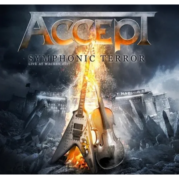 Box Accept - Symphonic Terror Live At Wacken 2017 (2 CDs + DVD)