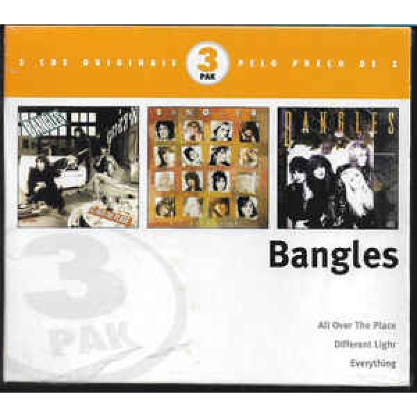 Box Bangles ‎– 3 Pak - All Over The Place/Different Light/Everything (3 CD's)