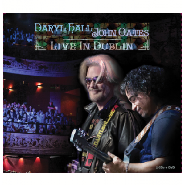 Box Daryl Hall/John Oates - Live In Dublin (2 CD's + DVD)