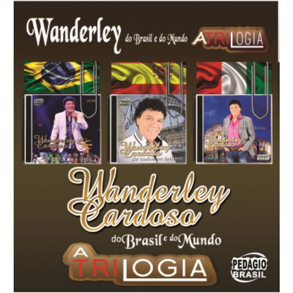 CD Wanderley Cardoso - Do Brasil E Do Mundo (3 CD's)