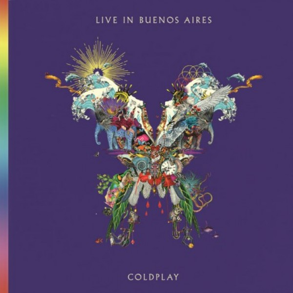 CD Coldplay - Live In Buenos Aires (DUPLO)