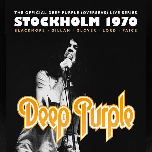 Box Deep Purple - Stockholm 1970 (2 CD's + DVD)