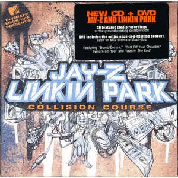 CD + DVD Jay-Z + Linkin Park - Collision Course (IMPORTADO)