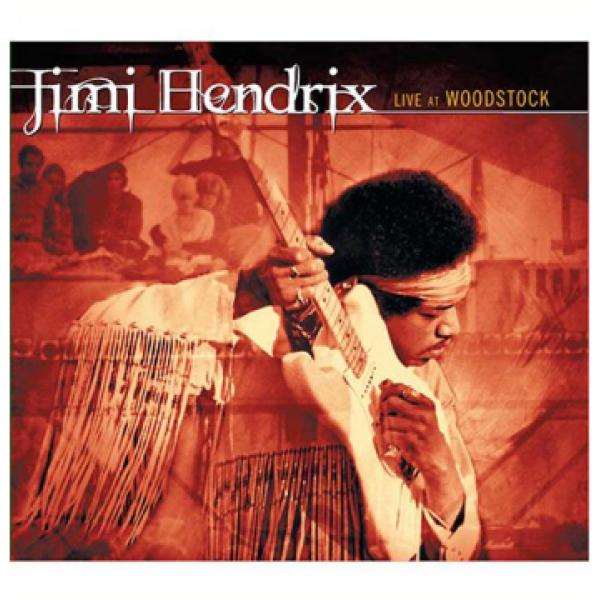 CD Jimi Hendrix - Live At Woodstock (Edição Especial - DUPLO)