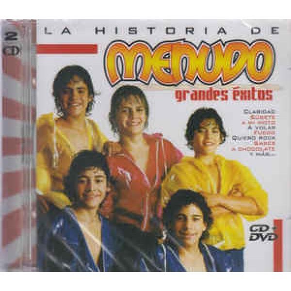 CD + DVD Menudo - La Historia De Menudo: Grandes Exitos (IMPORTADO)