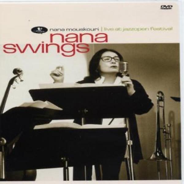 CD Nana Mouskouri - Nana Swings: Live At Jazzopen Festival