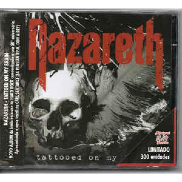 CD Nazareth - Tattoed On My Brain