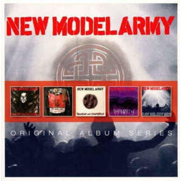 Box New Model Army - Original Album Series (5 CD's) (IMPORTADO)