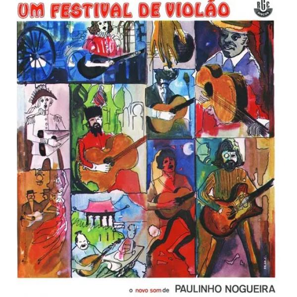 CD Paulinho Nogueira - Um Festival De Violão