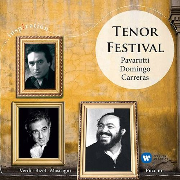 CD Tenor Festival - Pavarotti, Domingo & Carreras