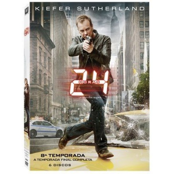 Box 24 Horas - Oitava Temporada (6 DVD's)