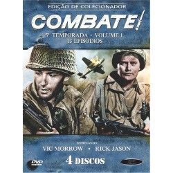 Box Combate - 5ª Temporada Vol. 1 (4 DVD's)