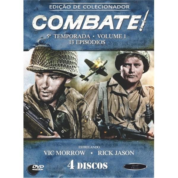 Box Combate - 5ª Temporada Vol. 1 (4 DVD's)