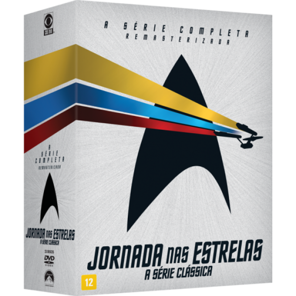 Box Jornada nas Estrelas - A Série Clássica Completa (23 DVD's)