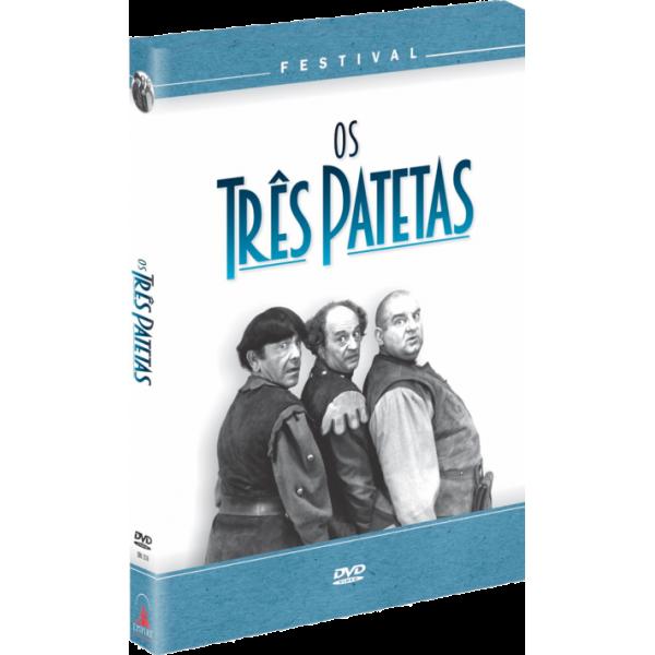 Box Festival Os Três Patetas (4 DVD's)