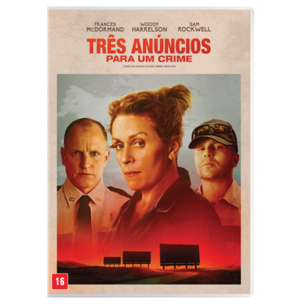 DVD Três Anúncios Para Um Crime