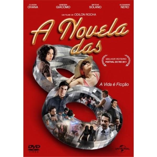 DVD A Novela Das 8