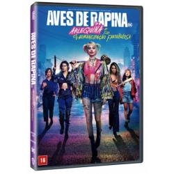 DVD Aves de Rapina - Arlequina e Sua Emancipação Fantabulosa