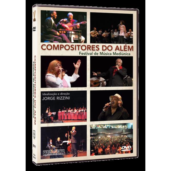 DVD Compositores do Além – Festival de Música Mediúnica