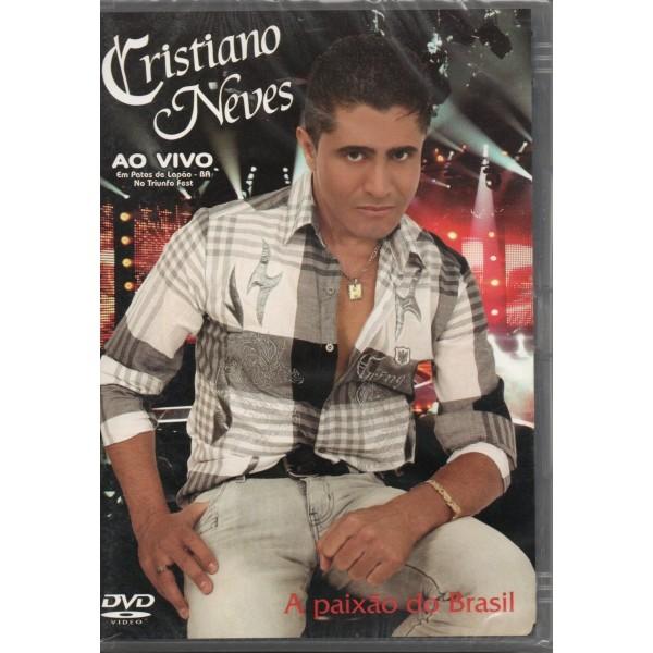 DVD Cristiano Neves - Ao Vivo Em Patos De Lapão
