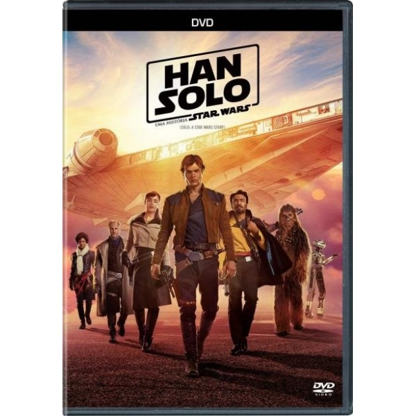 DVD Han Solo - Uma História Star Wars
