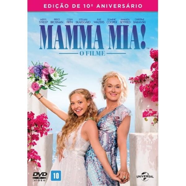 DVD Mamma Mia! - Edição de 10º Aniversário