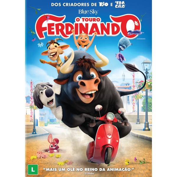 DVD O Touro Ferdinando