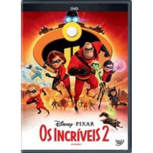 DVD Os Incríveis 2