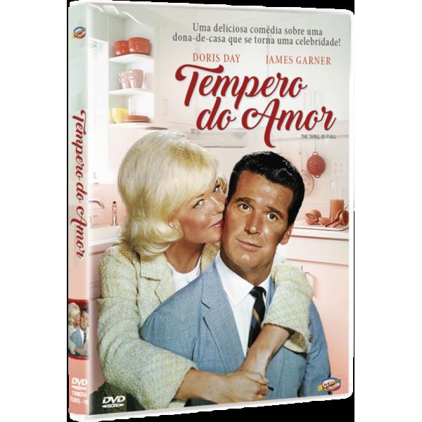 DVD Tempero Do Amor