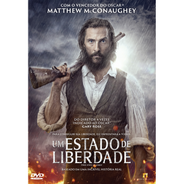 DVD Um Estado De Liberdade