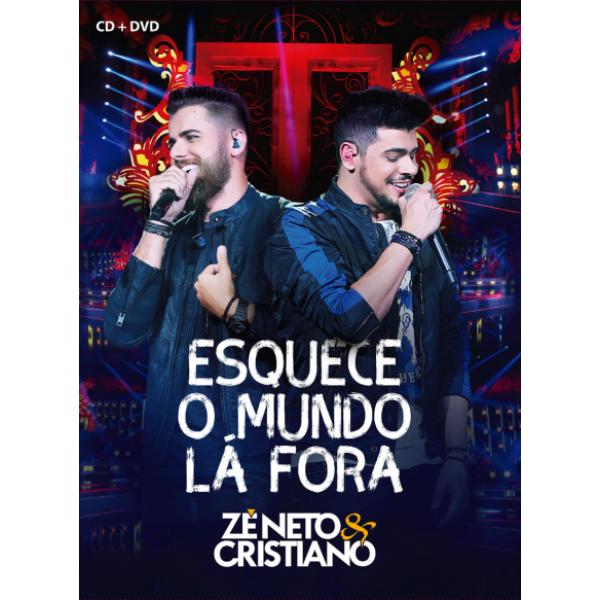 DVD + CD Zé Neto & Cristiano - Esquece O Mundo Lá Fora (Digipack)
