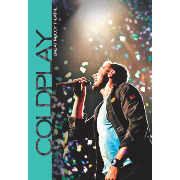 DVD Coldplay - Live At Moody Theatre