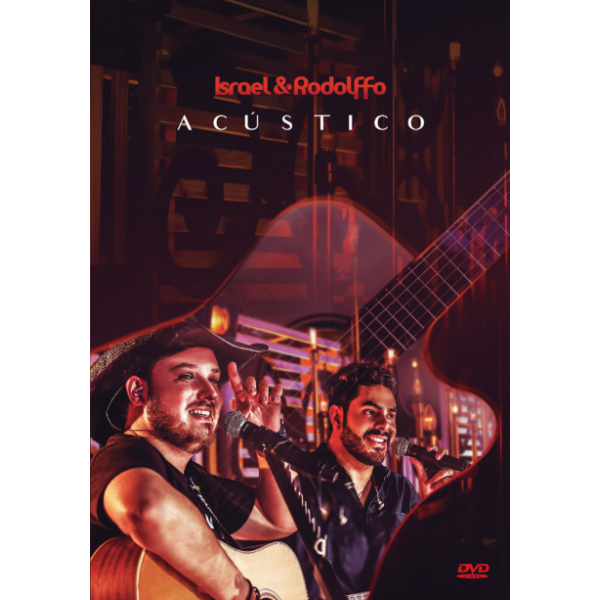 DVD Israel & Rodolfo - Acústico