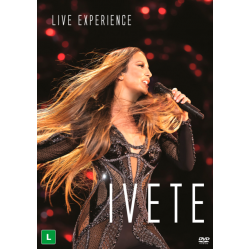 DVD Ivete Sangalo - Live Experience (DUPLO)