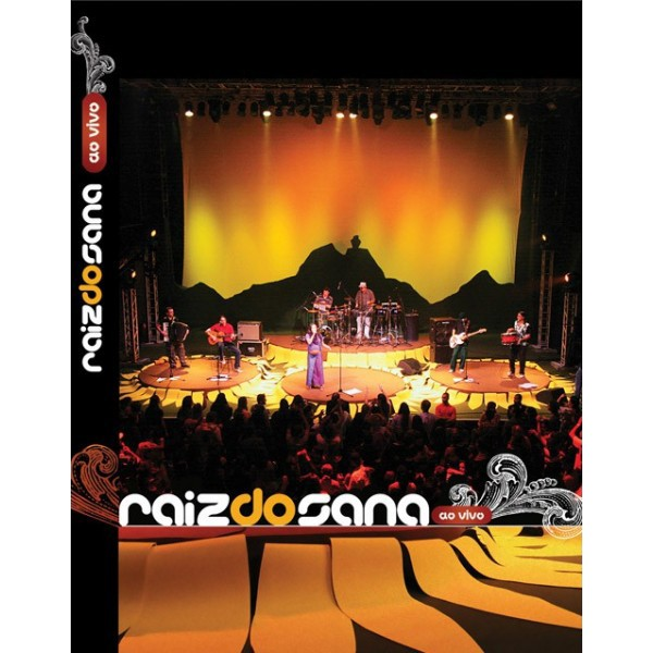 DVD Raiz Do Sana - Ao Vivo