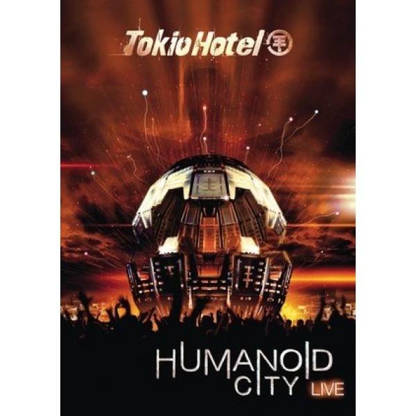 DVD + CD Tokio Hotel - Humanoid City Live